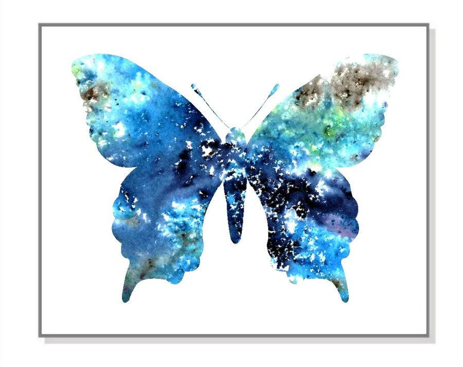 Hochzeit - Digital Download,Butterfly- original wateroclor painting,watercolor art print,butterfly lover
