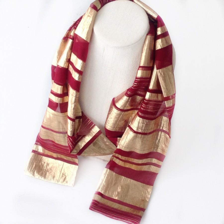 bfca1a7cf0 Wine Red Scarf