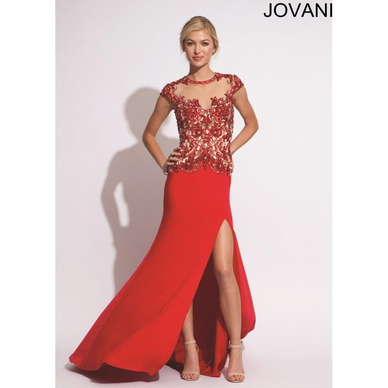 Wedding - Jovani 74236 - 2017 Spring Trends Dresses
