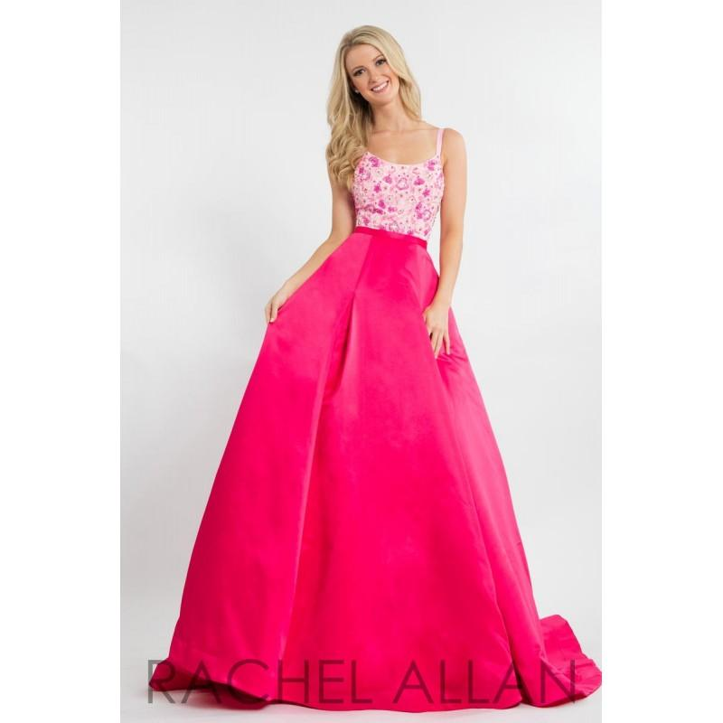 Düğün - Rachel Allan Prom 7647 Rachel ALLAN Long Prom - Rich Your Wedding Day