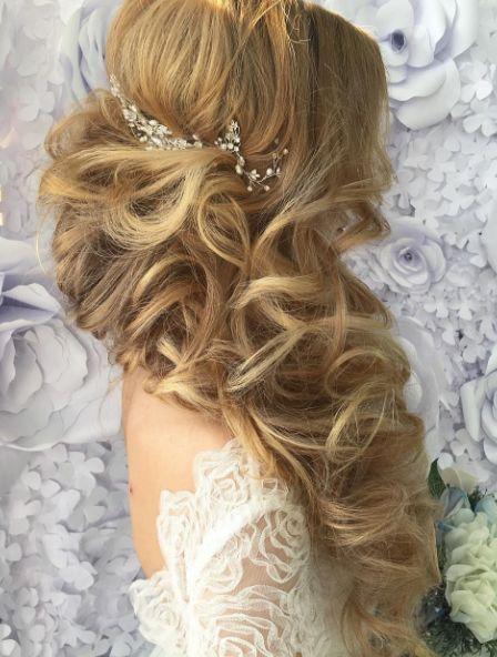 Свадьба - Wedding Hairstyle Inspiration - Websalon Wedding