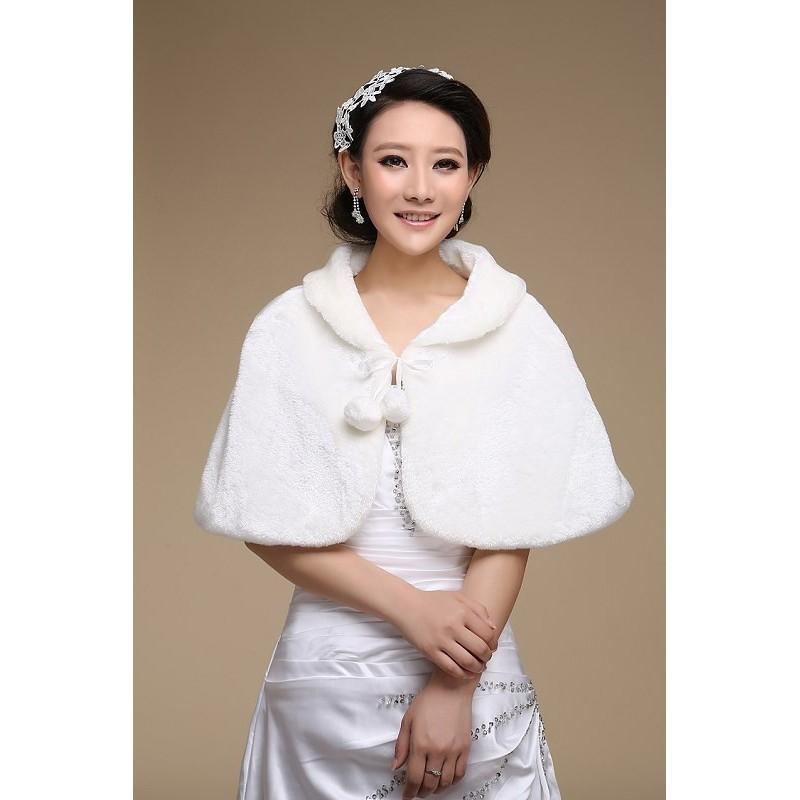Mariage - Very Nice Faux Fur Shawl ACCESSORY229  In Canada Wedding Accessories Prices - dressosity.com