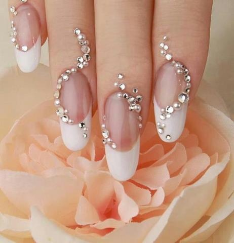Hochzeit - Tips Manicura De Novia//Wedding Bridal Nails