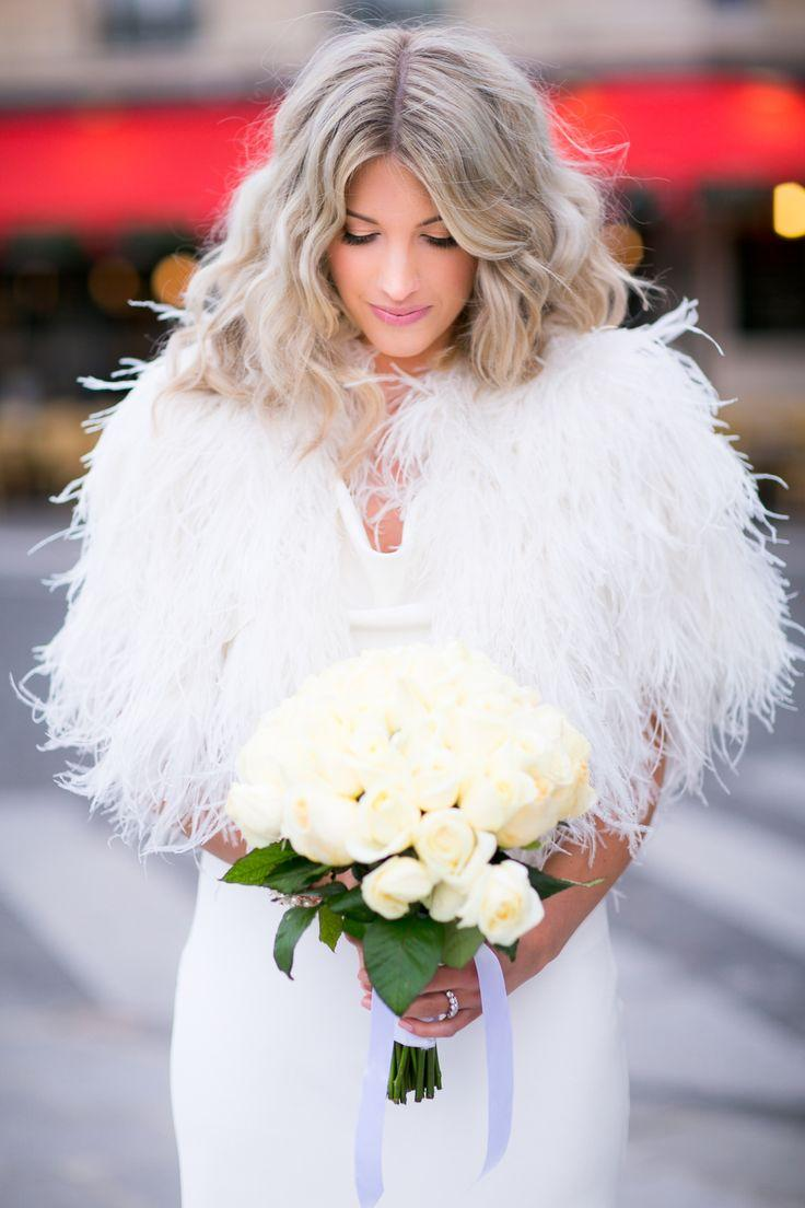 Свадьба - Intimate Winter Wedding In Paris
