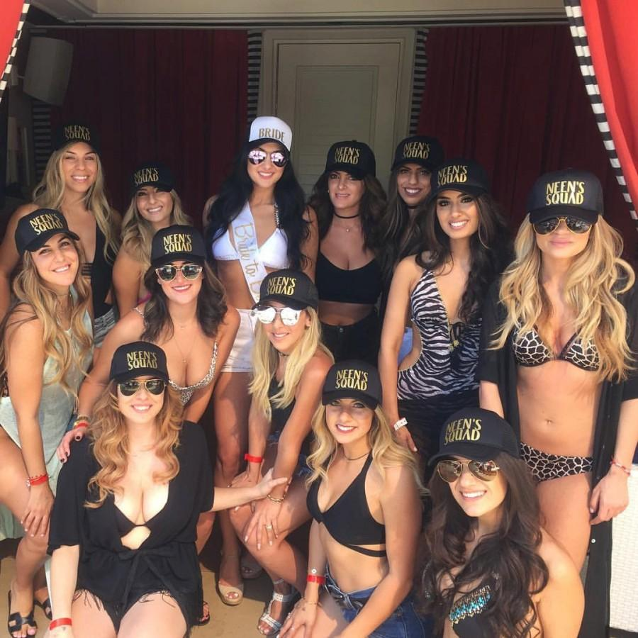 a15aef0f4dc35 Bachelorette Trucker Hats - SQUAD - TRIBE - PARTY - Wedding Caps ...