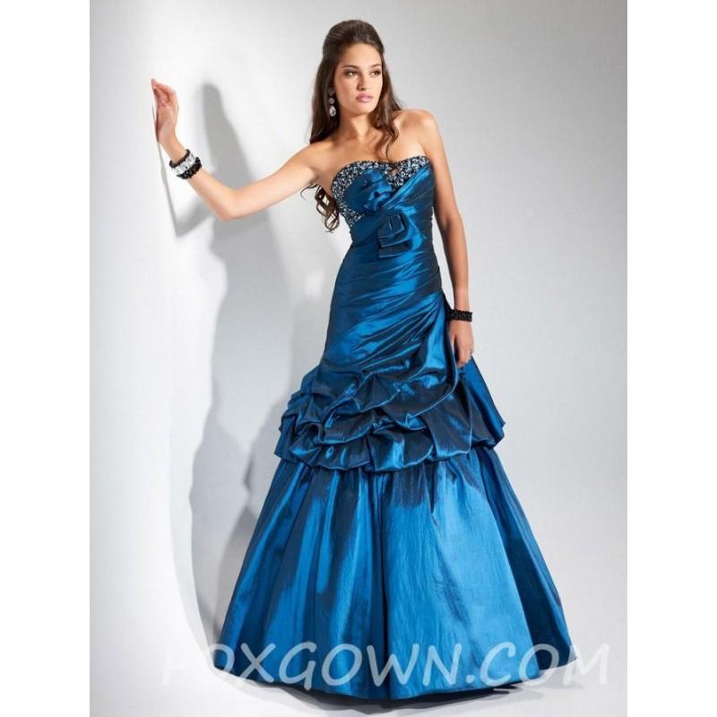 Festliche kleider lang blau