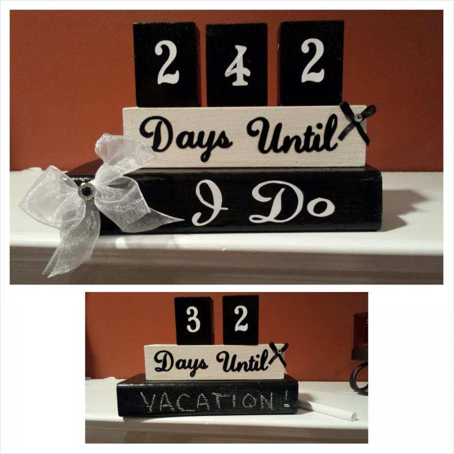 Mariage - Wedding Countdown Blocks