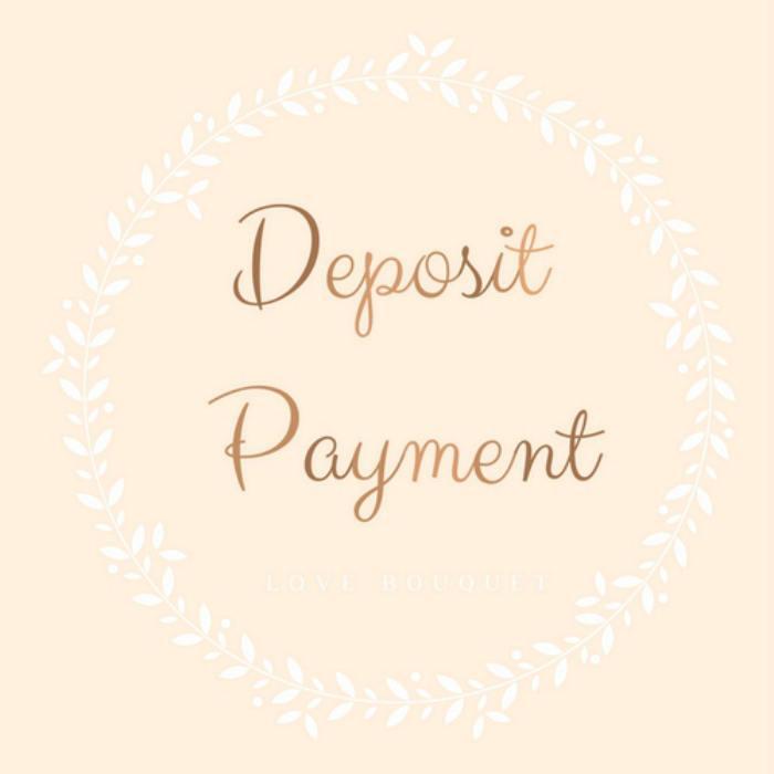 Mariage - DEPOSIT PAYMENT
