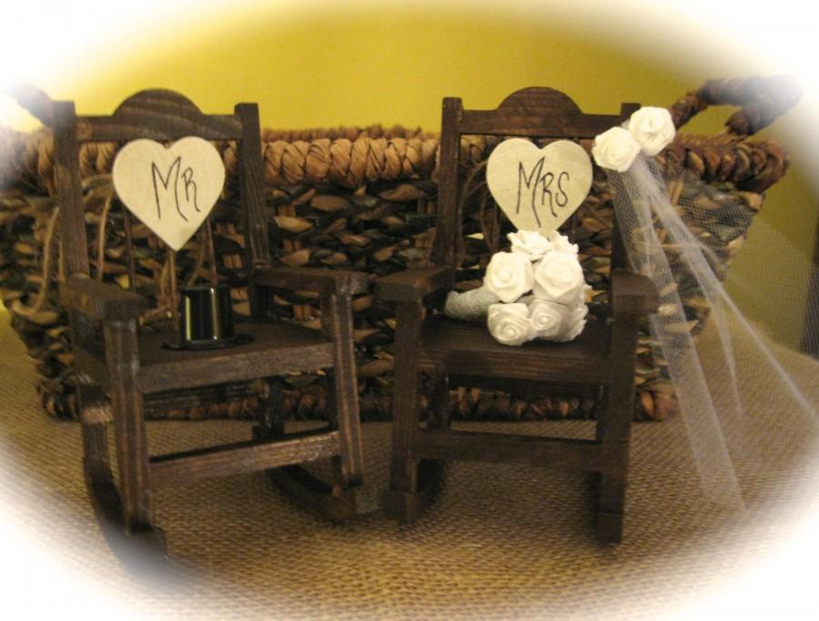 Prime Decor Rustic Wedding Rocking Chair Cake Topper 2686509 Gamerscity Chair Design For Home Gamerscityorg