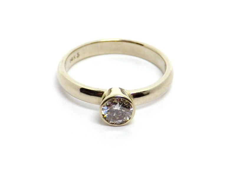 Mariage - 14K White Gold Diamond Ring
