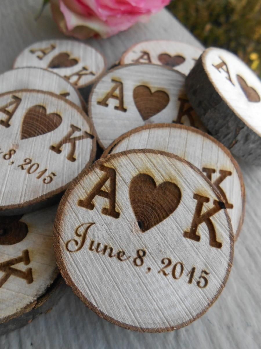 50 personalized initials wood rounds laser cut rustic wedding 50 personalized initials wood rounds laser cut rustic wedding vase filler confetti monogram letter reviewsmspy