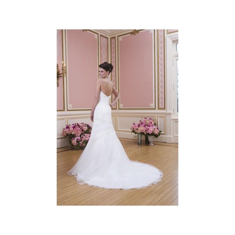 Wedding - Vestido de novia de Sweetheart Modelo 6022_084 - 2014 Evasé Palabra de honor Vestido - Tienda nupcial con estilo del cordón
