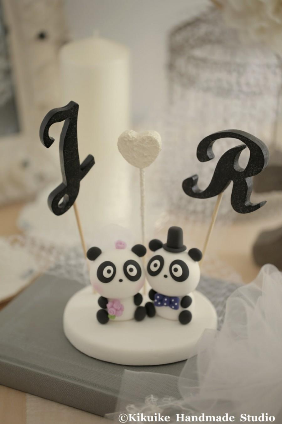 decor panda wedding cake topperk922 2687196 weddbook