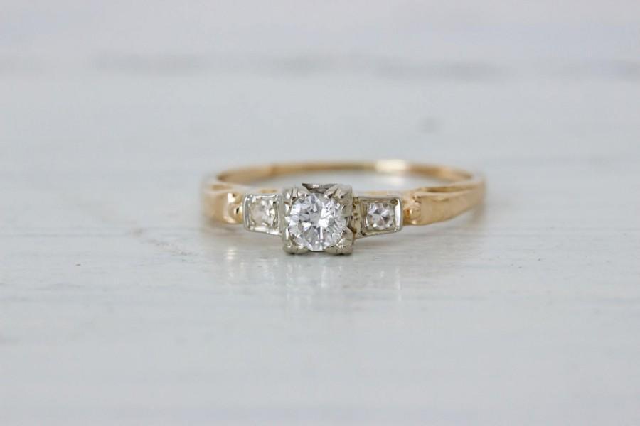Свадьба - 1940s Engagement Ring
