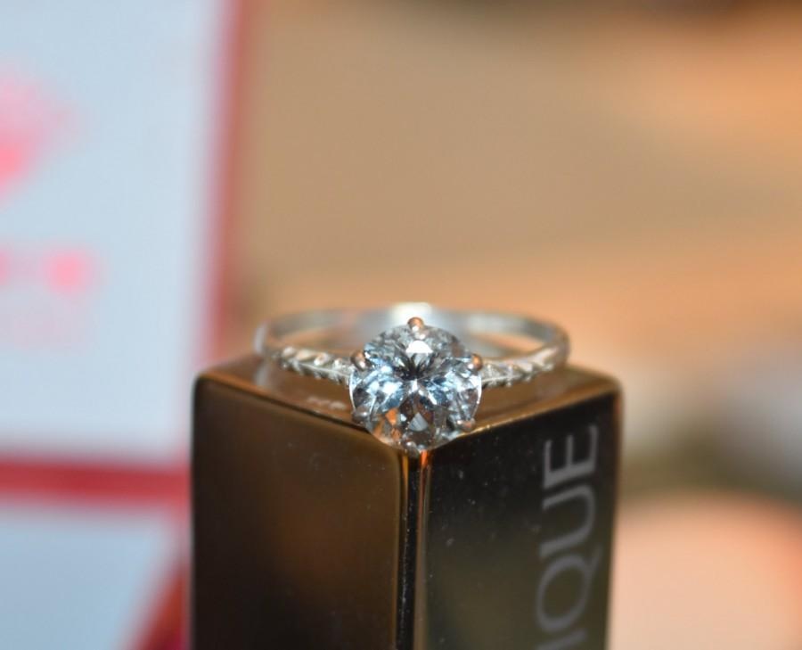 Wedding - Aquamarine Ring-Aquamarine Engagement Ring,Wedding Ring,Aquamarine Gemstone,Mothers Day Gift-Aquamarine Studs