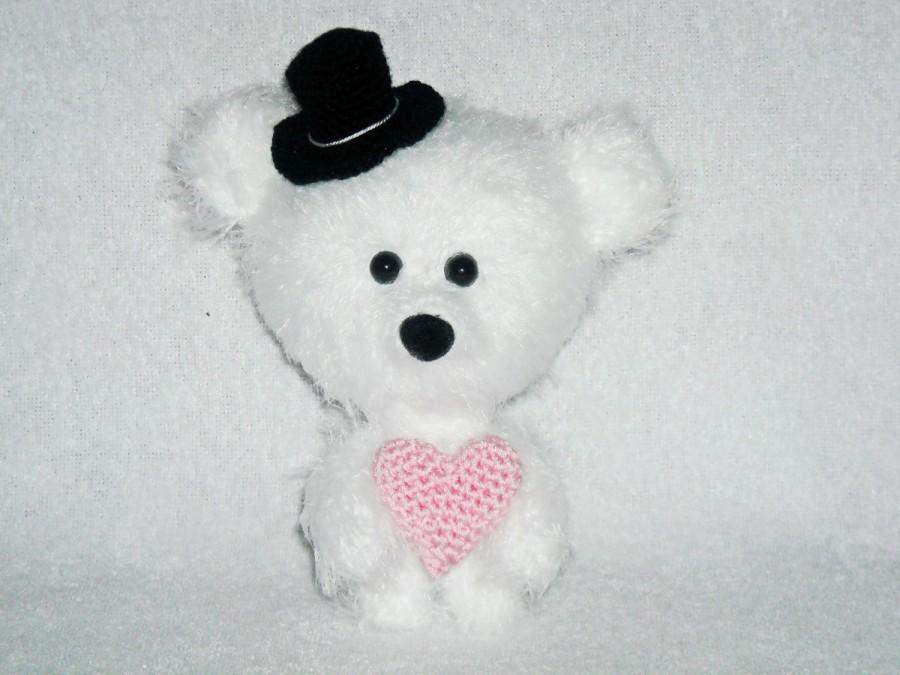 Amigurumi Little Bear : Gift Teddy Bear Amigurumi, Little Bear, Walking, Stuffed ...