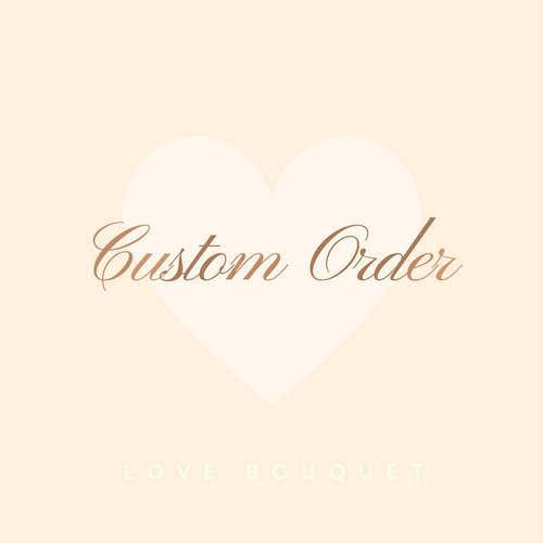 Wedding - CUSTOM ORDER