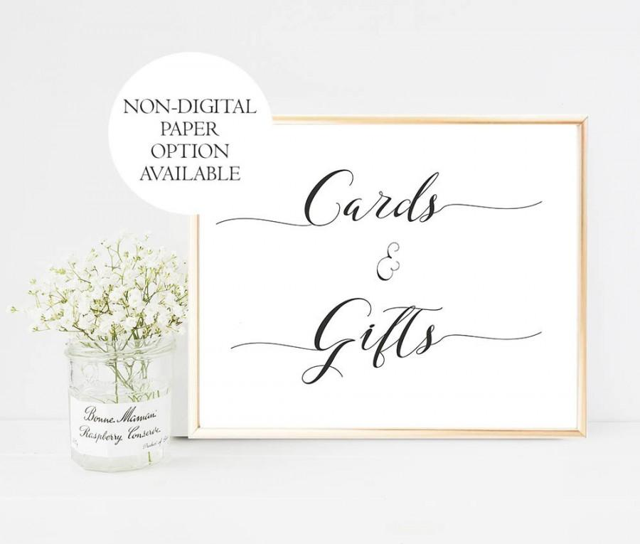 Wedding Gifts Sign Printable Gifts And Cards Wedding Sign