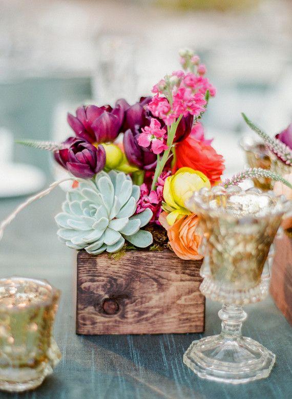 Свадьба - Colorful Arizona Wedding: Kelsey   Mason (100 Layer Cake)