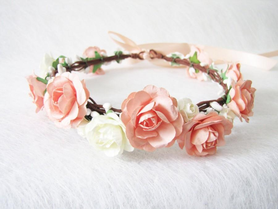 Wedding Floral Crown 40c2c272819