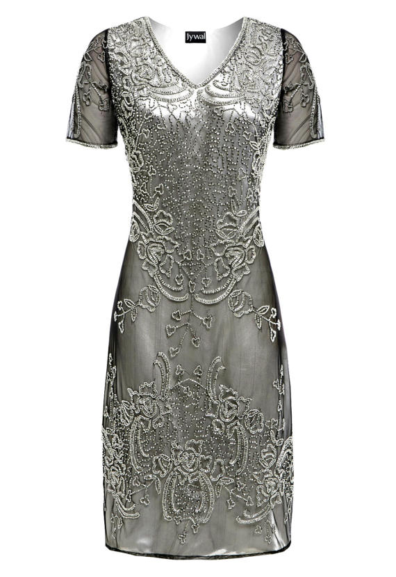 Свадьба - Linda Embellished Shift Dress, 1920s Great Gatsby Style Dress, Charleston Sequin Flapper Dress, Short Evening Beaded Prom Dress, S-XL