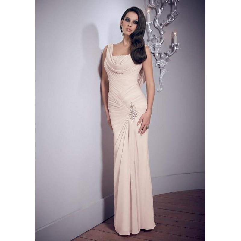 Wedding - MGNY Evening Gown 70801 -  Designer Wedding Dresses