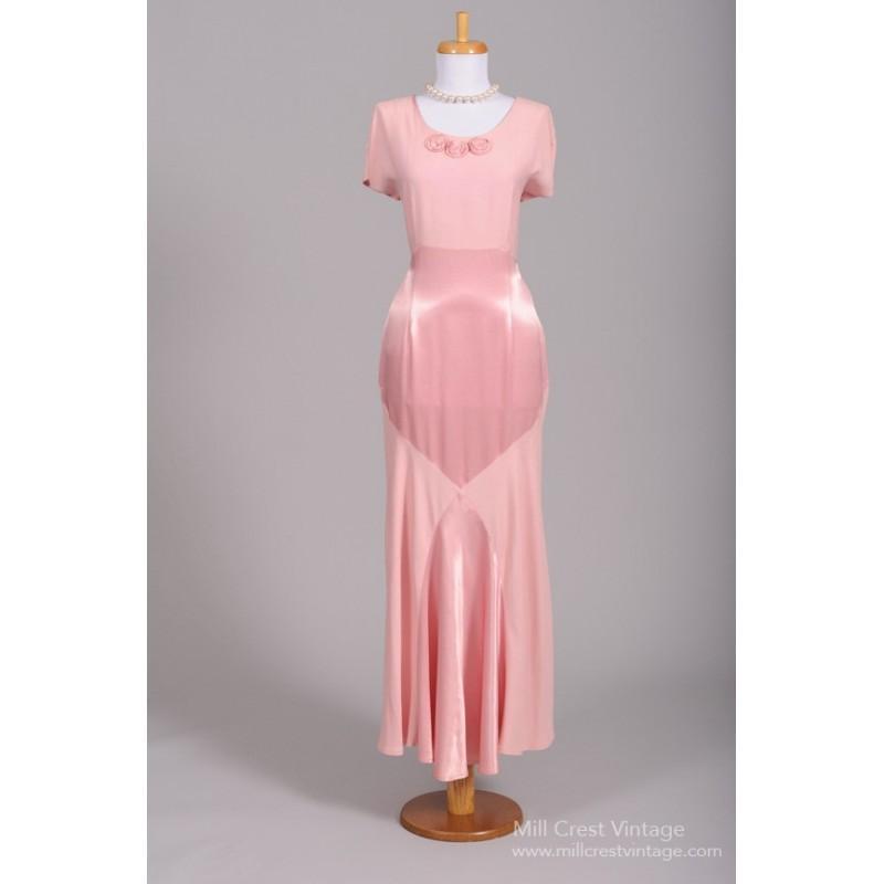 Wedding - Mill Crest Vintage 1970 Oscar de la Renta Vintage Wedding Gown -  Designer Wedding Dresses