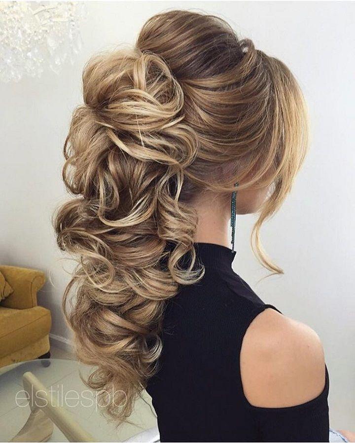زفاف - Beautiful Bridal Hairstyle For Long Hair To Inspire You