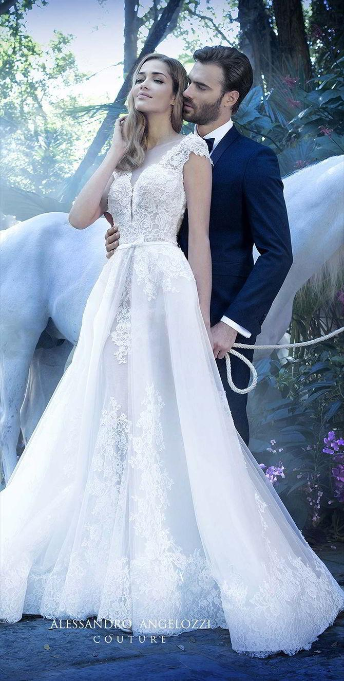 c1c80b8868d Alessandro Angelozzi Couture 2017 Wedding Dresses  2688684 - Weddbook