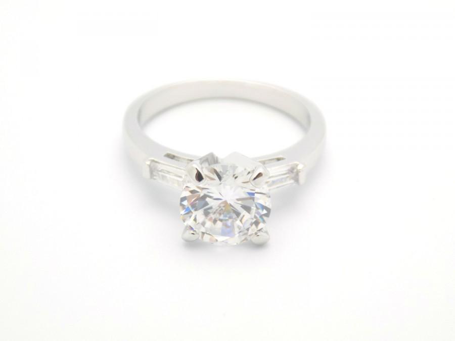 زفاف - simple engagement ring, cz ring, cz wedding ring, cz engagement ring, solitaire engagement ring, size 5 6 7 8 9 10 - MC1077851AZ