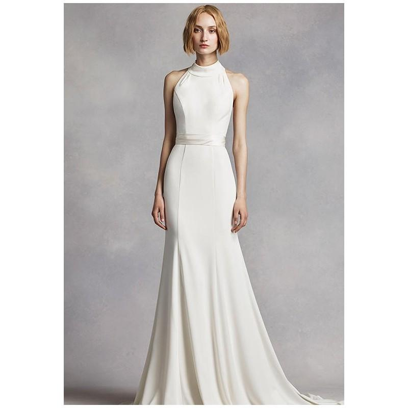 White by vera wang white by vera wang style vw351263 for Wedding dresses the knot