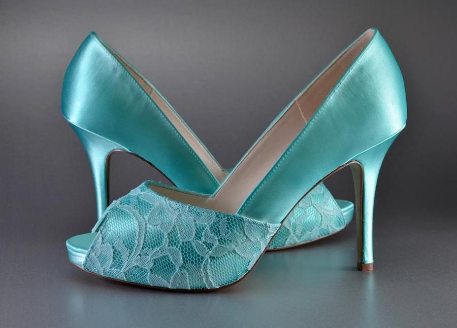 Wedding - Weddings, Accessory Wedding Shoes, High Heel Peep Toe Shoes, womens dress shoes, bridal shoes, bridal accessories, dyeable wedding shoe