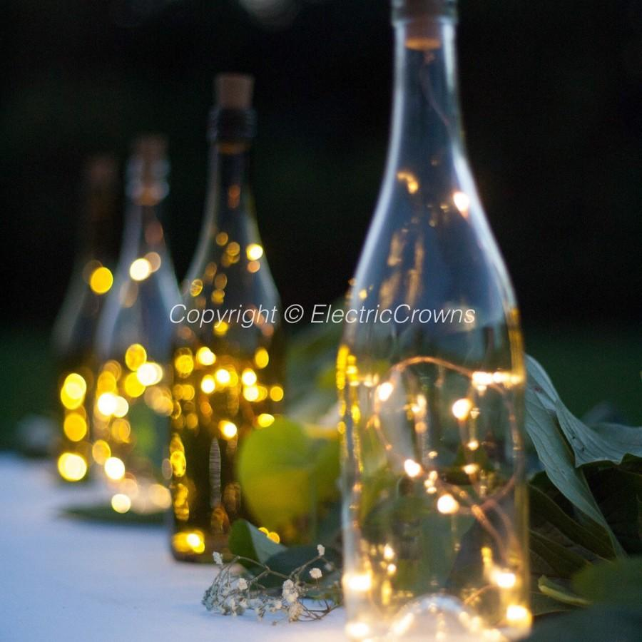 DIY Wedding Lantern, Wedding Centerpiece, Wine Bottle Decor, Centerpiece, Wine  Bottle Centerpiece, Wine Theme Wedding, String Lights ONLY #2689126 -  Weddbook