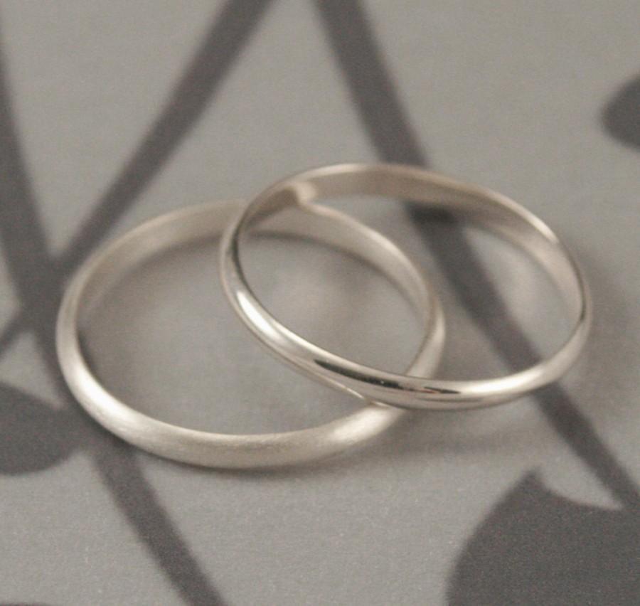 Simple Wedding Ring 2mm Plain Jane Ring Sterling Silver Ring Women S Wedding Ring Half Round Band Women S Wedding Band Stacking Ring 2689138 Weddbook