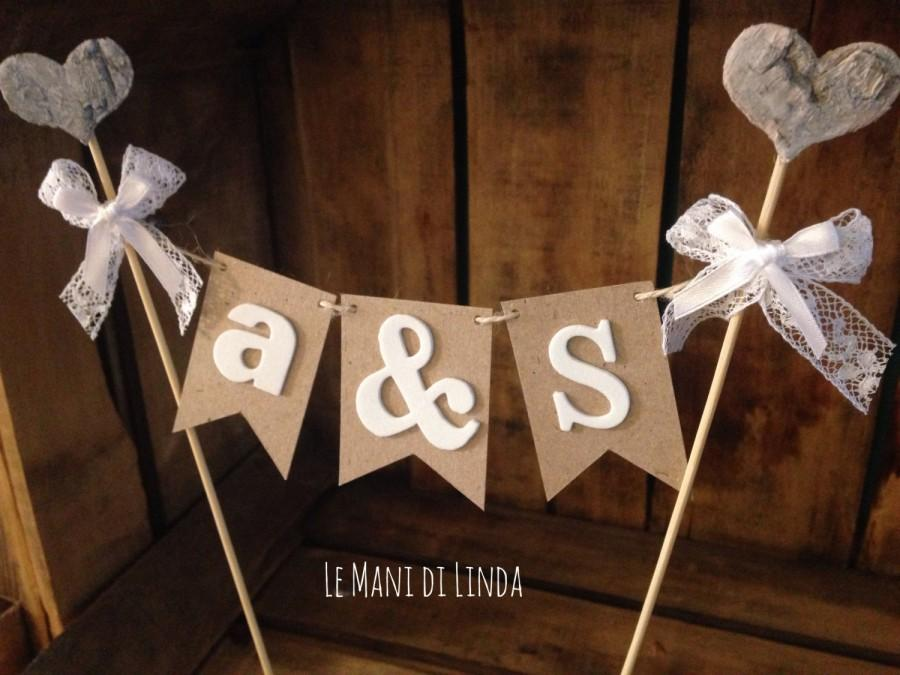 Mariage - Cake Topper Banner
