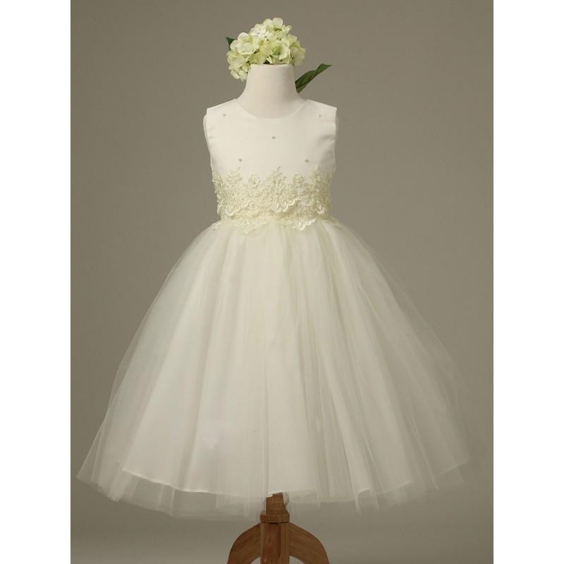 Wedding - Ivory Cinderella Tulle Flower Girl Dress Style: D1098 - Charming Wedding Party Dresses