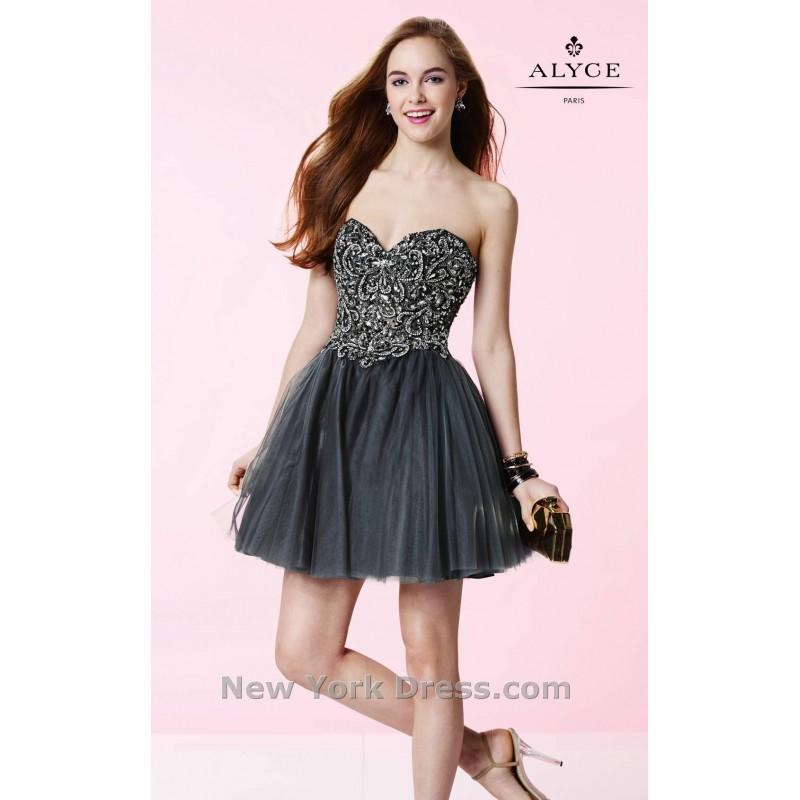 Düğün - Alyce 3673 - Charming Wedding Party Dresses
