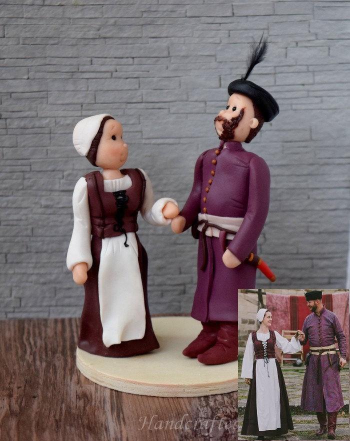 Wedding - Personalized wedding cake topper