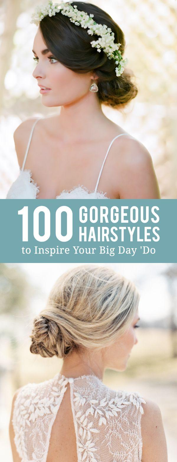 Свадьба - 100 Drop-Dead-Gorgeous Hairstyles To Inspire Your Big Day 'Do