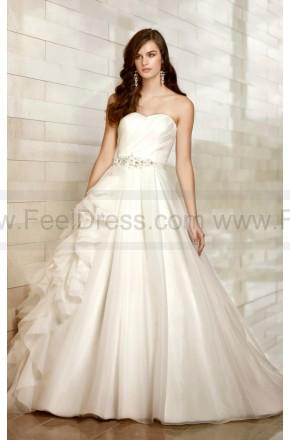 Свадьба - Essense Wedding Dress Style D1412 Organza Ball Gown Strapless
