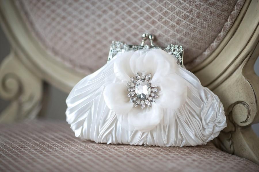 Mariage - Wedding Handbag, Bridal Purse, Wedding Purse, Bridal Hand Bag