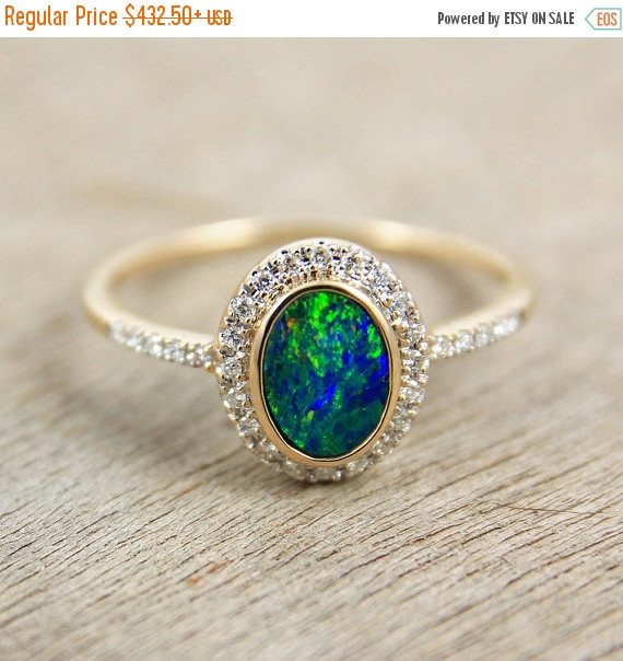 engagement rings pinterest pin black opal