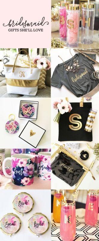 Wedding - Bridesmaids Gifts & Ideas