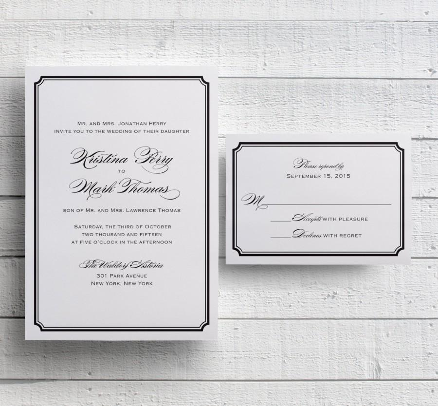 simple invitation template
