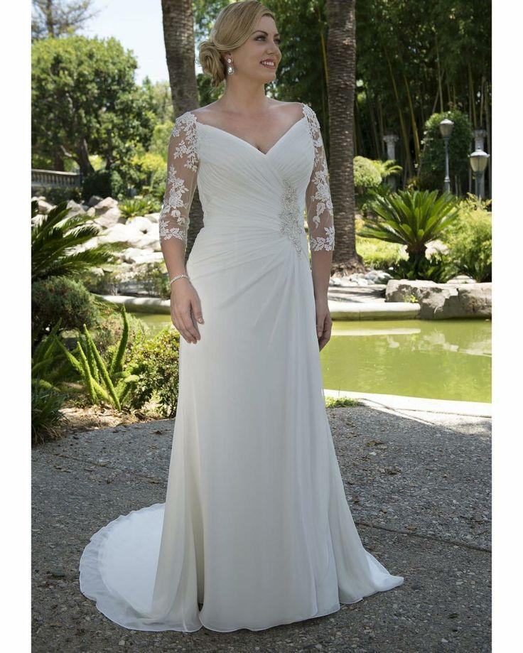 Plus Size Bridal Gowns Custom Made To Order For Curvy Brides