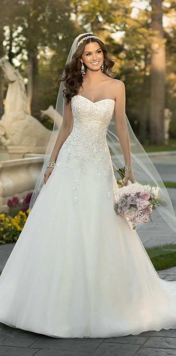 100 Sweetheart Wedding Dresses That Will Drive You Crazy 2690678