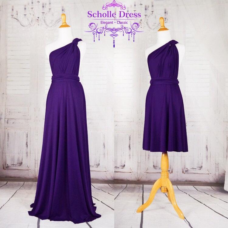 Royal Purple Bridesmaid Dress Sweet