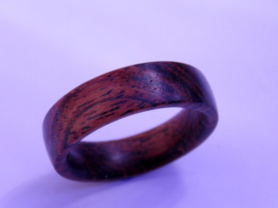 زفاف - Mens ring, wood ring, rustic Koa ring, mens wood ring, mens wooden ring, wood wedding band, wood wedding ring, mens wedding band, Koa wood