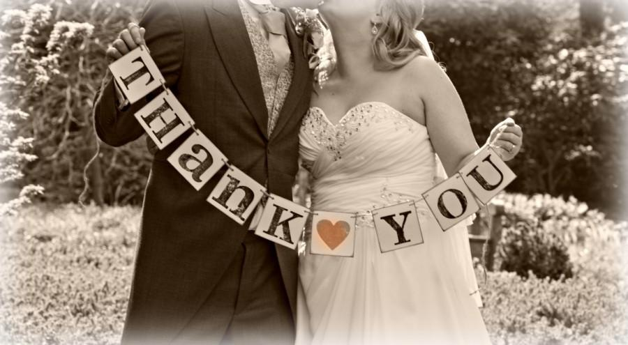 زفاف - Thank You Photo prop/Danke/Hochzeit /Merci/Mariage/Wedding Banner/thank you sign/photo booth/wedding sign/wedding decoration/Thank You photo