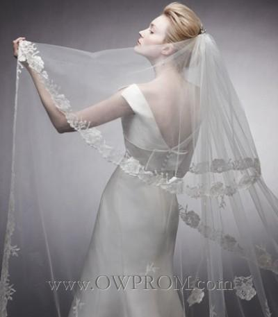 Hochzeit - Peter Langner Pepita Veil Wedding Veils - OWPROM.com